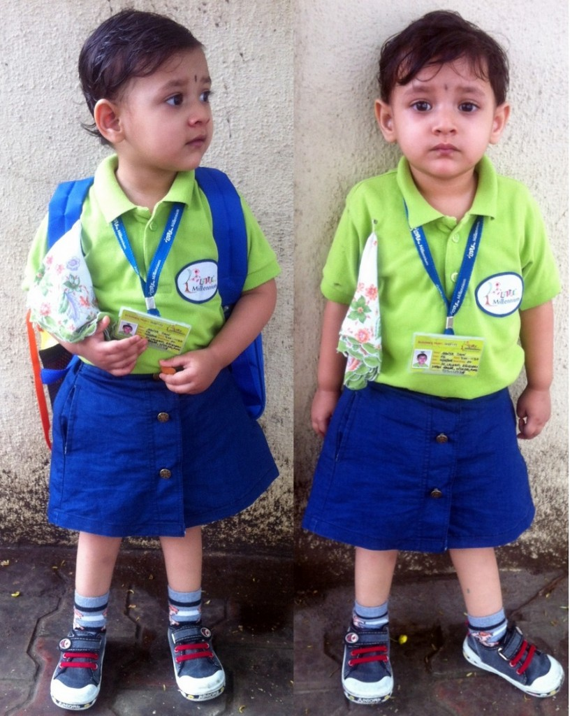 aanya-going-to-school-and-coming-out