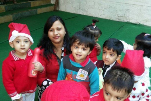 Christmas party in school